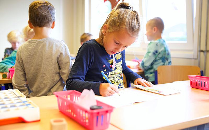 School in beeld